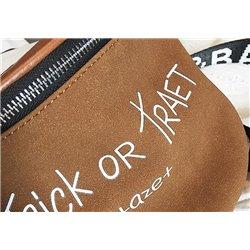 Стильная коричневая сумочка для девушек повседневная арт ALOHA 3011