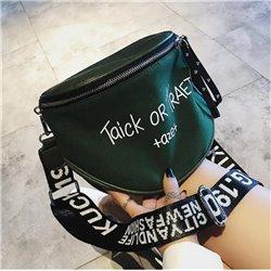Модная зеленая сумочка женская кожаная Алоха Москва 3012