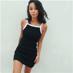 Платье с лямками женское ALOHA 1001