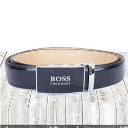 Мужской ремень Hugo Boss автоматический материал кожа арт 11001