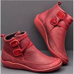 Ботинки демисезонные женские высокие ALOHA 2020 с кожаной отделкой