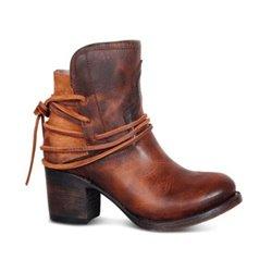 Кожаные ботинки для женщин демисезон Алоха Москва арт 2023